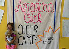 American Girl, Princess, Tumbling Camps Savannah Sharks