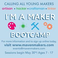 Maven Makers Summer Camp 2017 Savannah