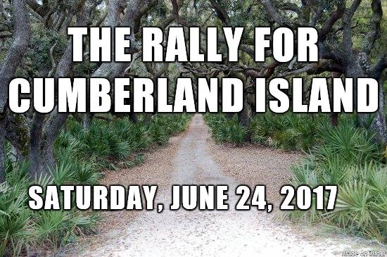 Save Cumberland Island Savannah Georgia 2017