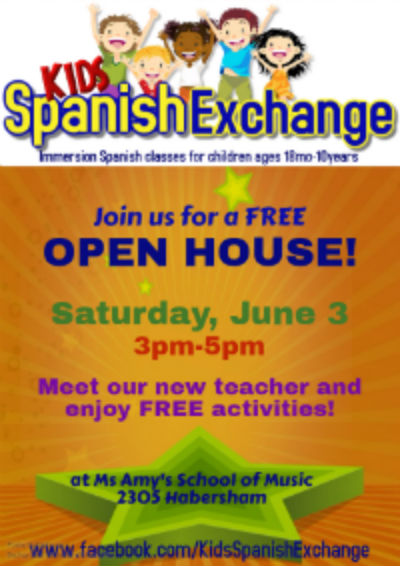 Spanish classes for kids youth children Savannah Hilton Head Island Pooler