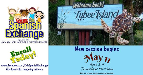 Spanish youth lessons Tybee Island Savannah Kids Spanish Exchange