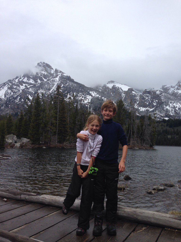 Yellowstone family trips Grand Teton summer vacation