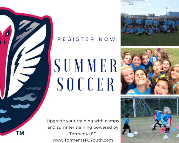Summer 2017 Soccer Camp Tormenta Storm Youth Training
