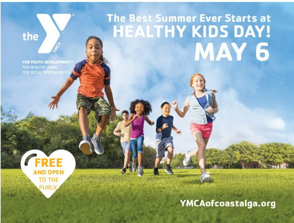 YMCA Savannah Wilmington Island Healthy Kids Day 2017