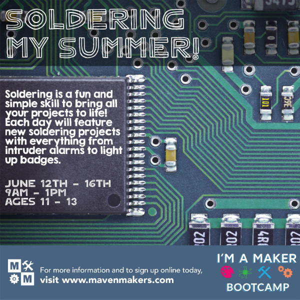 Maven Makers Summer Camps 2017 Savannah
