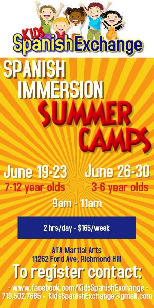 Spanish classes Richmond Hill Savannah Summer Camps Immersion
