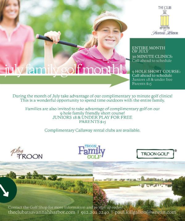 Golf Summer Discounts savannah Club Harbor