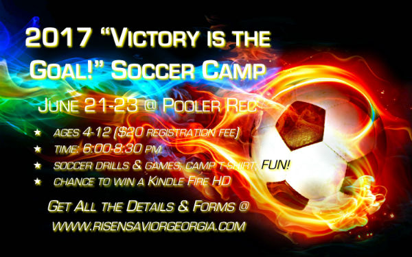 Soccer Camps Pooler Savannah Risen Savior