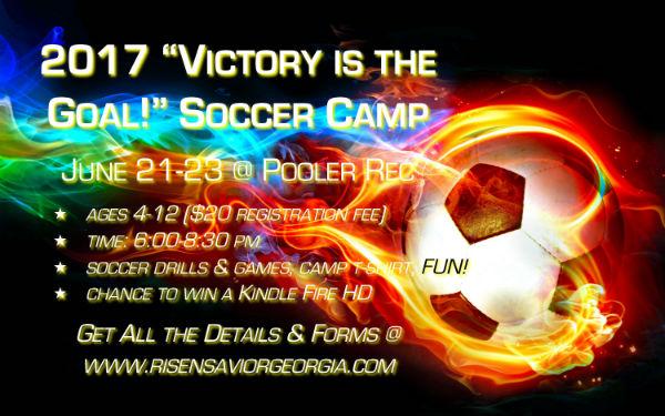 Soccer Camps Pooler Savannah Risen Savior