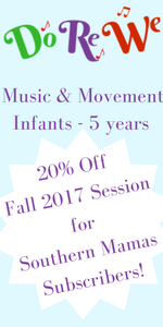 Do Re Me SouthernMamas.com discount Savannah music program for kids