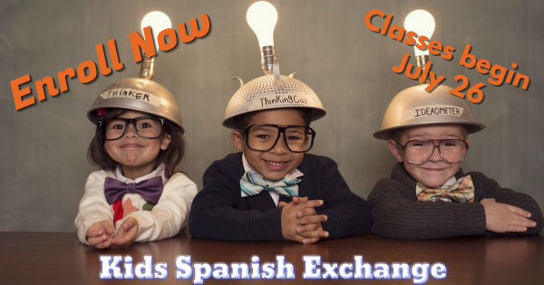 Spanish classes for kids in Savannah Kids Spanish Exchange