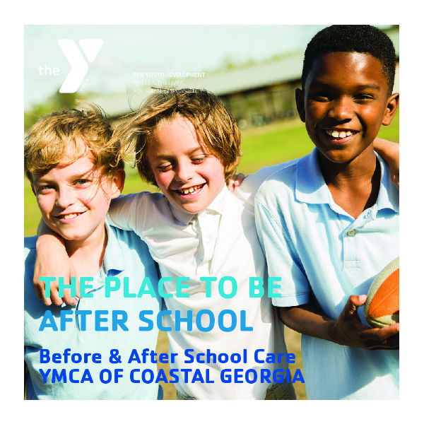 after-school childcare Savannah YMCA Coastal Georgia