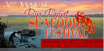 Seafood festivals in Savannah Pin Point Beaufort Jekyll