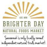 Brighter Day Natural Foods Market Savannah health food