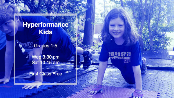 Crossfit kids classes in Savannah
