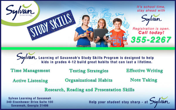 Study Skills Tutoring Savannah Sylvan Learning Center