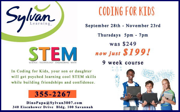 STEM Coding for Kids Sylvan Savannah