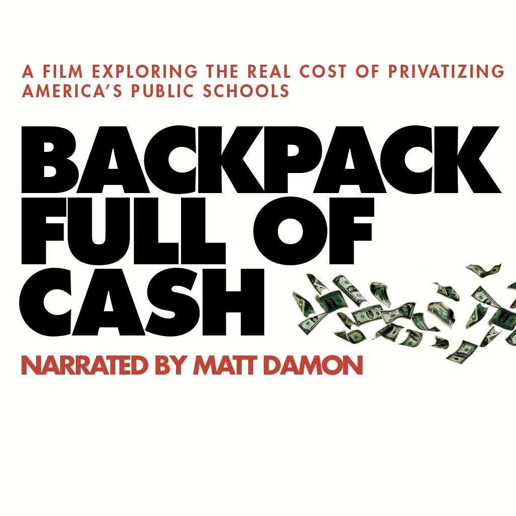 Backpack full of cash public schools documentary Savannah JEA free