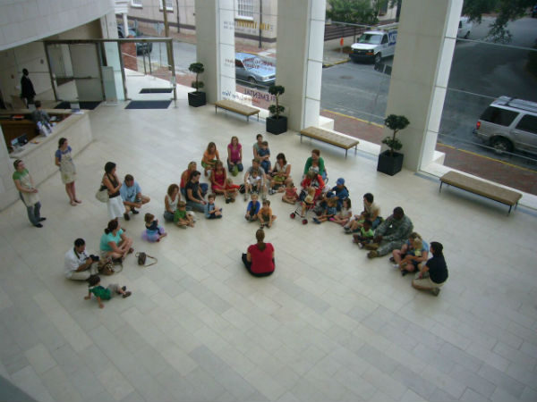 Toddlers Activities Savannah Telfair Museums Art Start Jepson Center