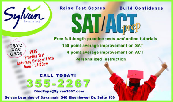 SAT ACT test prep Savannah