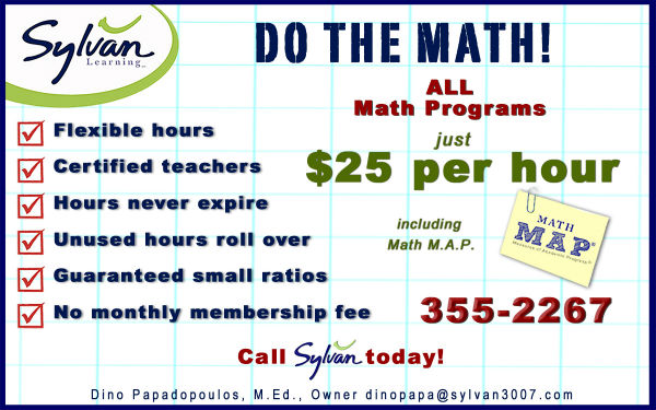 Sylvan Savannah Math Tutoring discount Test Prep