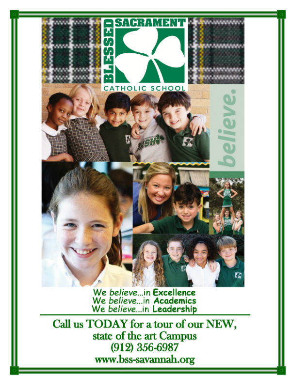 Blessed Sacrament School Savannah private Catholic schools elementary