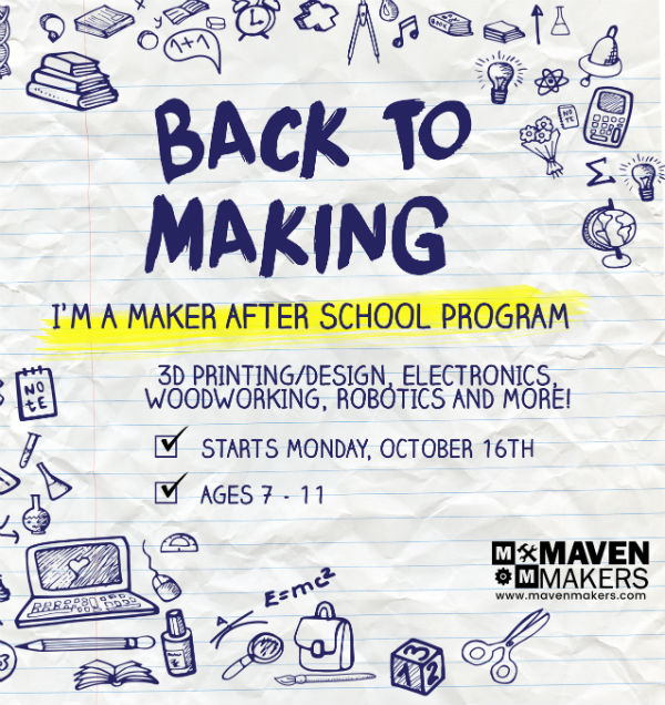 Maker After-School Classes Maven Maker Savannah