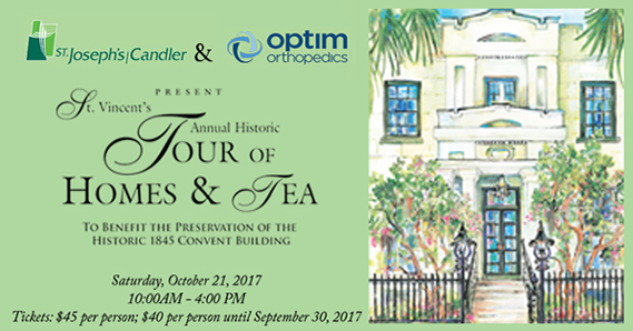 Savannah schools St. Vincent's Tours Tea