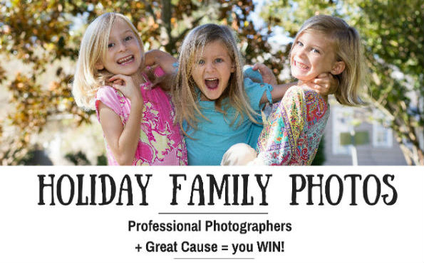 Holiday Family Photo Sessions Affordable Deal Savannah photographers