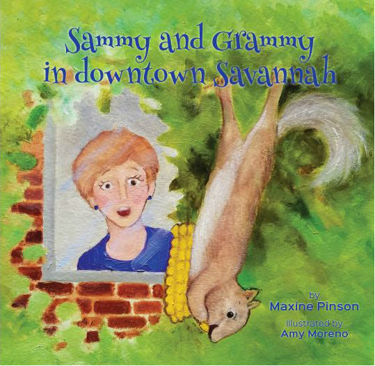 Savannah books children Sammy and Grammy