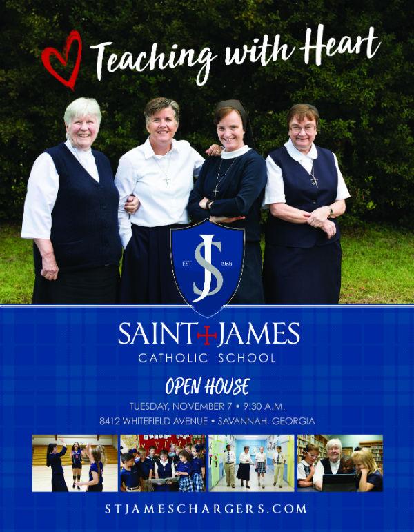Savannah schools St James Catholic School preK
