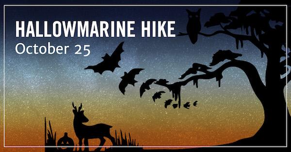 Hallowmarine Hike Savannah UGA Marine Skidaway Island