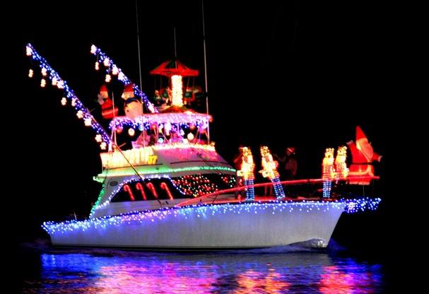 Tybee Lighted Boat Parade Savannah Holiday Christmas Events