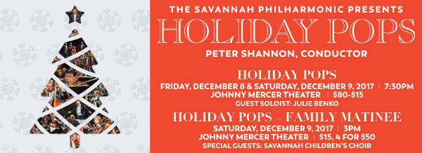 Holiday Pops Savannah 2017 Christmas Concert Savannah