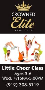 Little Cheerleading classes cheer Crowned Elite Athletics Savannah