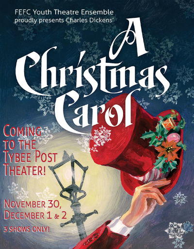 Tybee Post Theater A Christmas Carol Savannah Holidays 2017