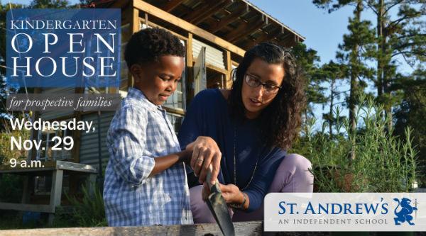 St. Andrew's Kindergarten Open House 2017 Savannah schools