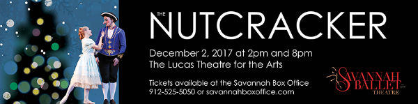 Nutcracker in Savannah Ballet Lucas 2017 Christmas events