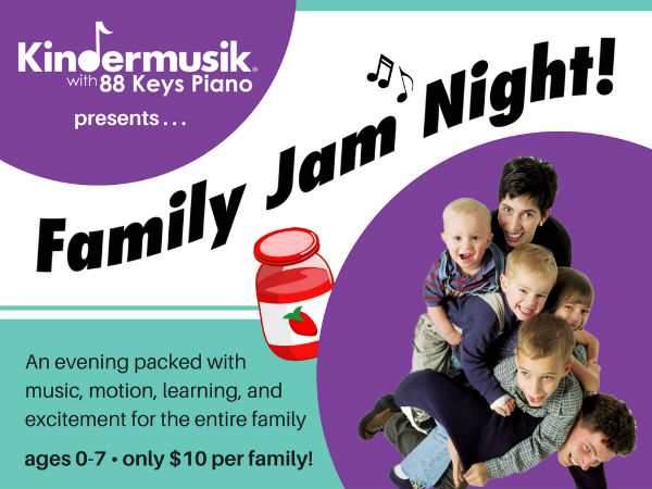 Family Jam Night Kindermusik Savannah 2017