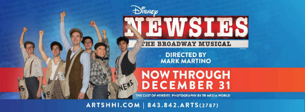 Newsies Savannah Hilton Head musical