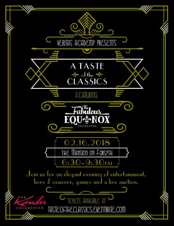 Veritas Academy Taste classics Savannah private schools