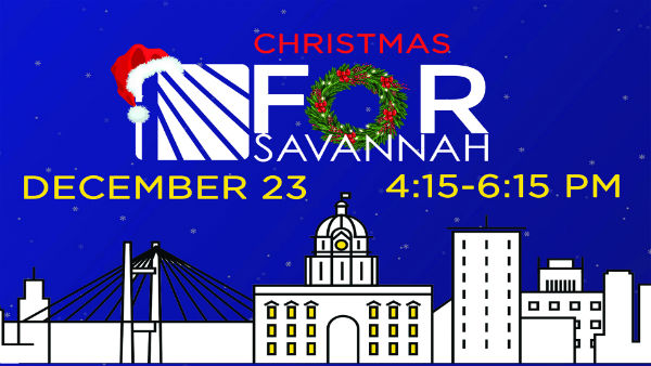 Lifebridge free Christmas event Savannah 2017