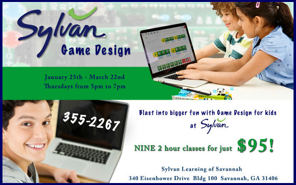 Coding classes for kids in Savannah 2018
