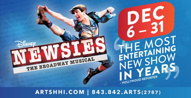 Newsies Savannah Hilton Head Is. Arts Center Coastal Carolina