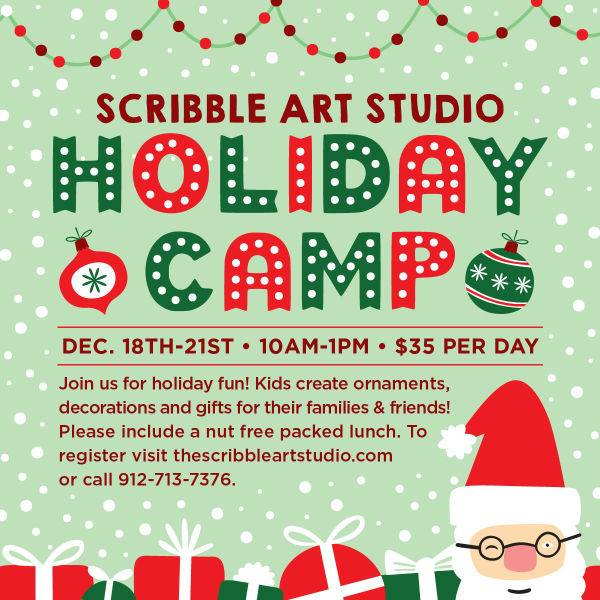 Savannah Holiday Camps 2017 Scribble Art Studio