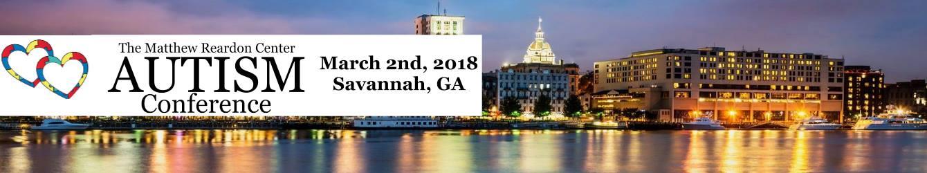 Autism Conference 2018 Savannah Matthew Reardon Center