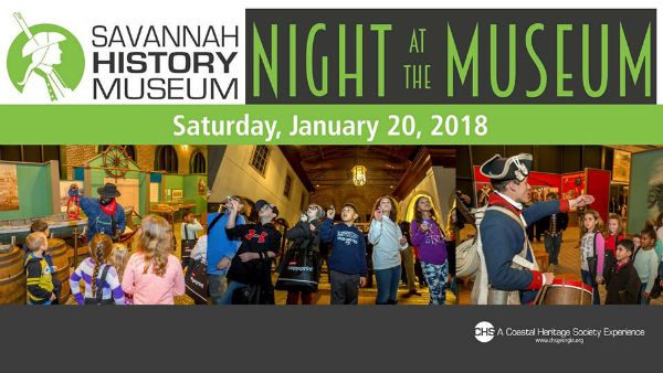 Night at the Museum Savannah History Coastal Heritage Society