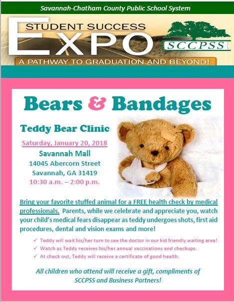 Savannah-Chatham County public schools School Expo Teddy Bear Clinic Savannah