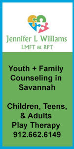 Savannah family therapists counselors Jennifer L. Williams play therapy