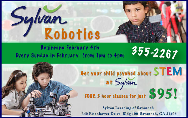 Robotics after-school class Sylvan tutoring